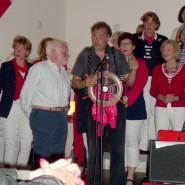 Rooie Gerrit, waar wij het mooie Muiderhardzeillied van zingen.